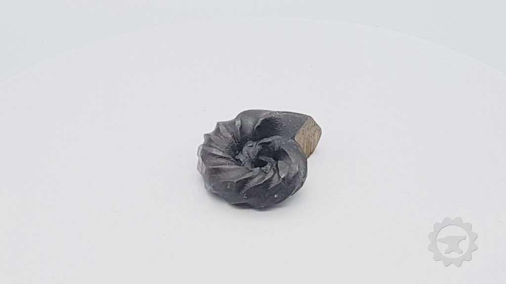 Niet versteend metalen Fossiel