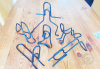 Paperclip Yoga Pose